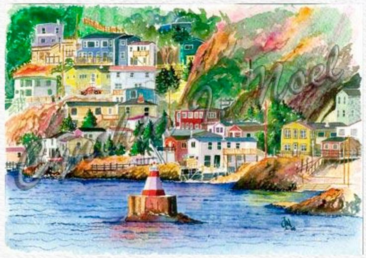 Chain Rock, St. John's Harbour (SOLD)