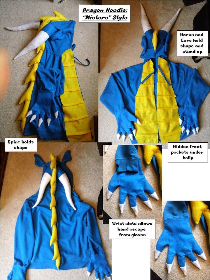 Dragon Hoodie Style & 75+ best Dragon Costume images by ri0t nrrd on Pinterest | Dragon ...