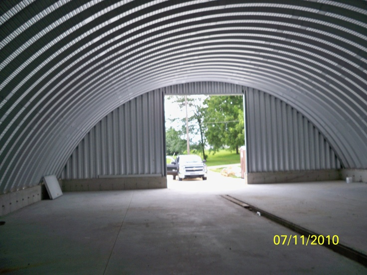 1000 images about quonset style steel buildings on pinterest for Clear span garages