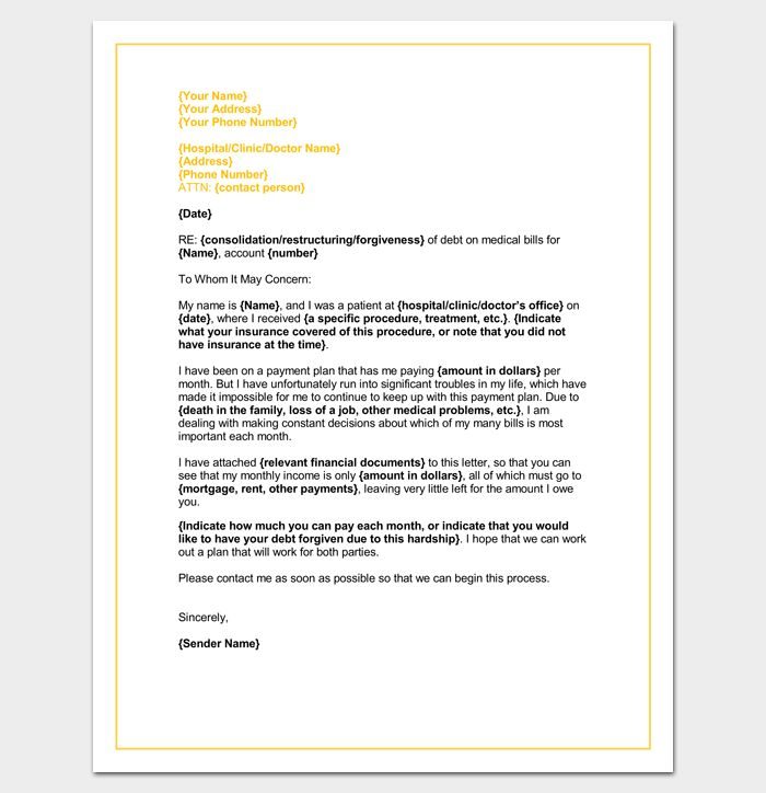 48 best Letter Templates - Write Quick and Professional images on - medical report template