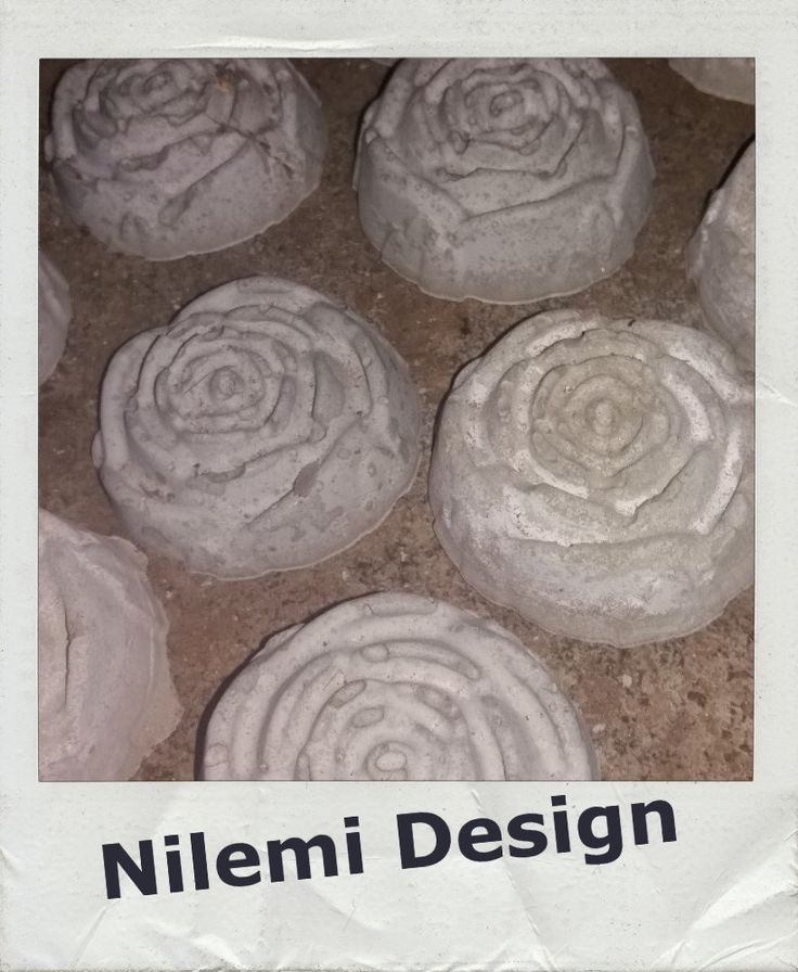 Concrete rose by NilemiFI on Etsy