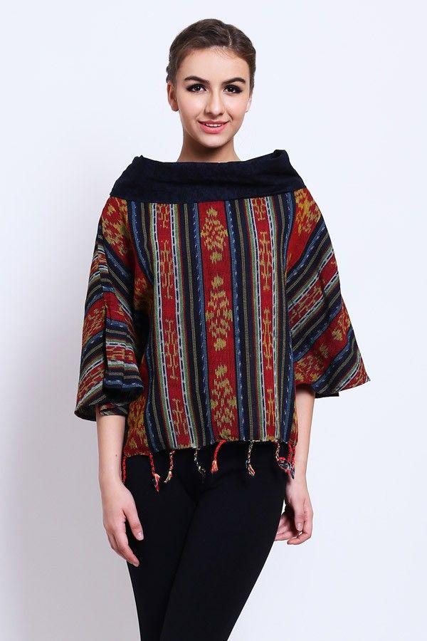 Fashion & Clothing : Blouse Sabrina Neck