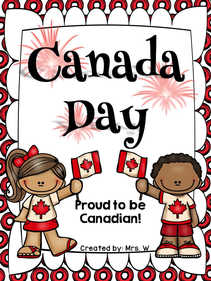 FREE Canada Day printables!!