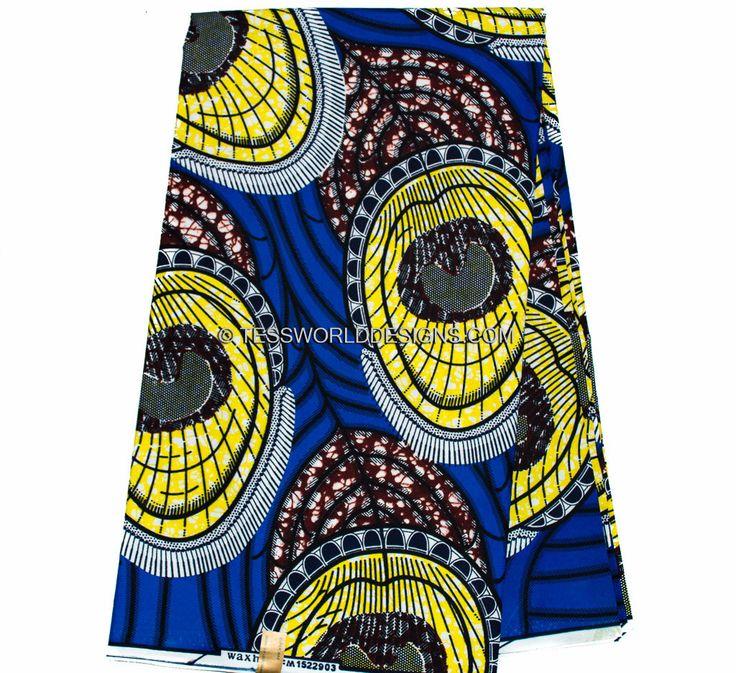 African Fabric Wholesale /Peacock  Ankara Fabric /Poly Cotton/ African fabrics/ Ankara print fabric/ Dutch Wax  Print/ Wax print  WP906 by TessWorldDesigns on Etsy