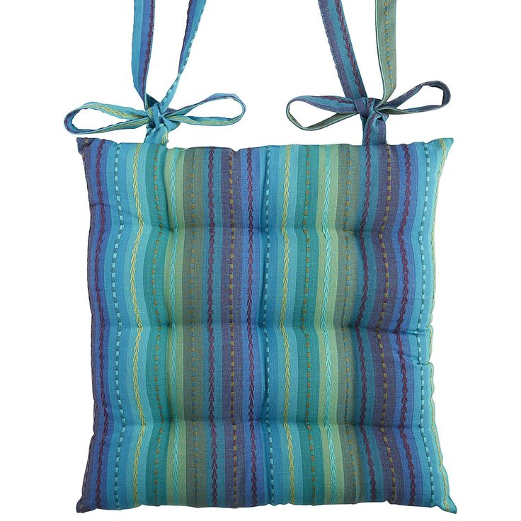 Multi Colored Stripe Dining Cushion
