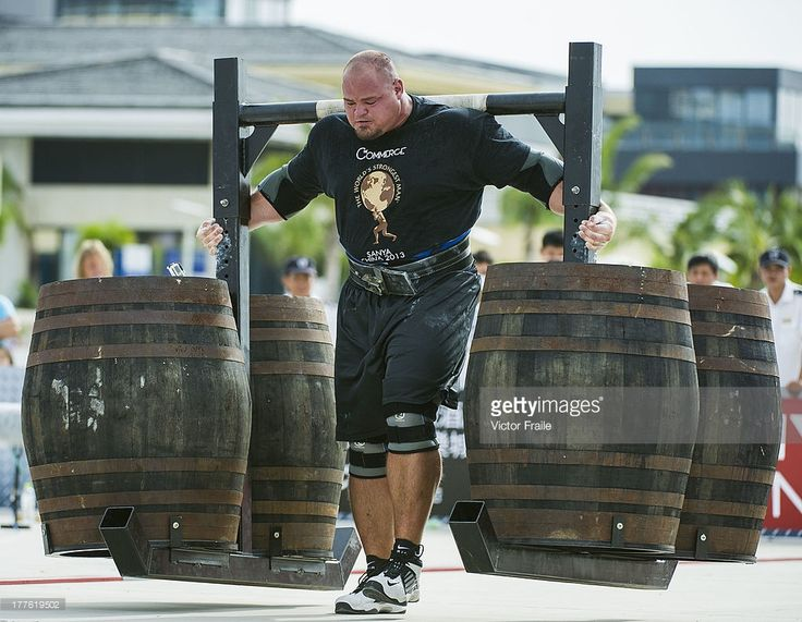The World's Strongest Man | Getty Images