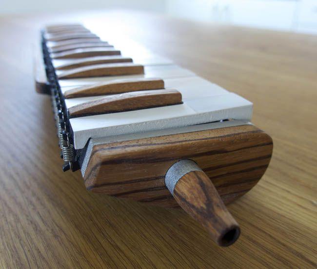 3D printed melodica