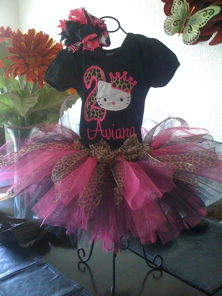 Hello+Kitty+tutu+set+by+DebsDazzzlingDesigns+on+Etsy,+$45.00