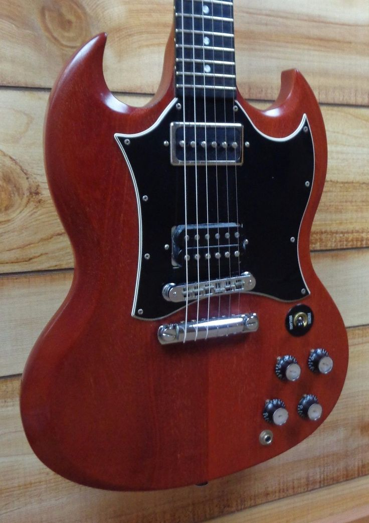 Used 2004 Gibson SG Special Faded Cherry Electric Guitar Ebony Fretboard w/Case