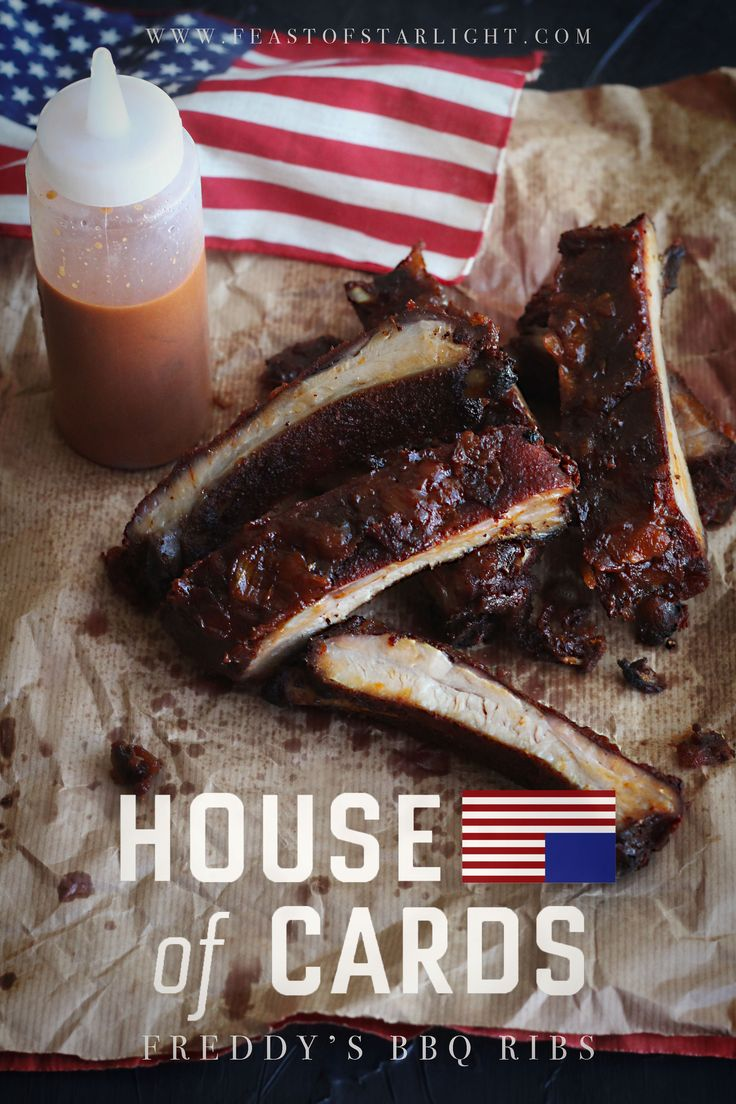 Freddy's BBQ ribs from the Netflix series, House of Cards.