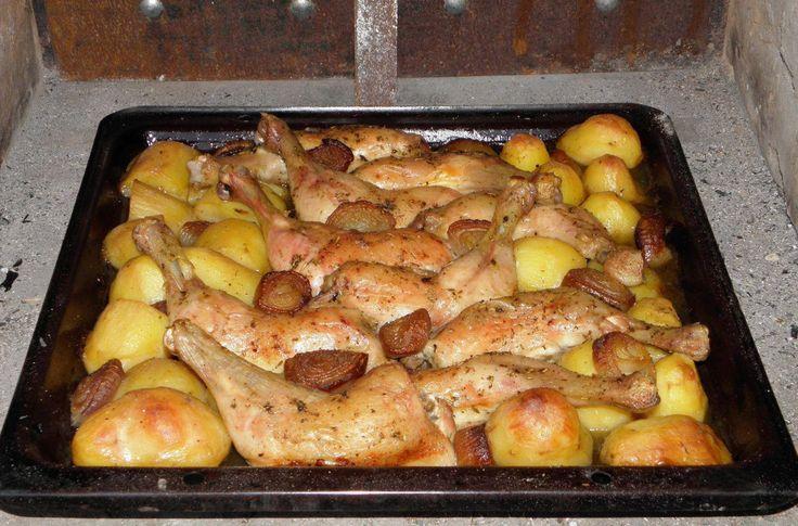 Csirkecomb pékné módra – dobj mindent a tepsibe, és már sütheted is