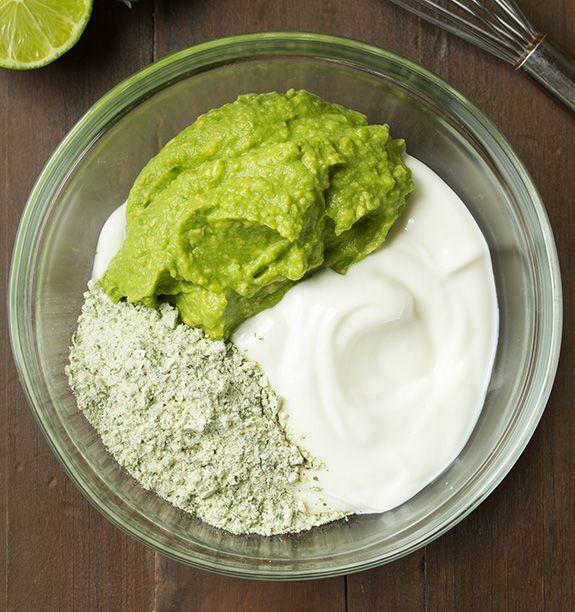 Avocado Greek Yogurt Ranch Dip | Cooking Classy