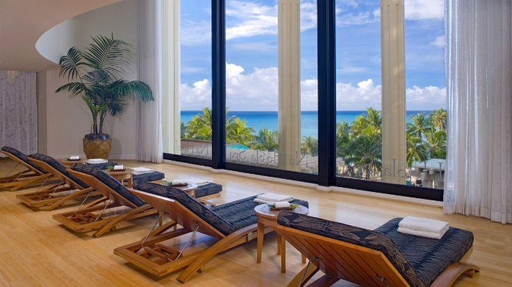 Hyatt Regency Waikiki Beach Resort & Spa - relaxation room at Na Ho'ola Spa