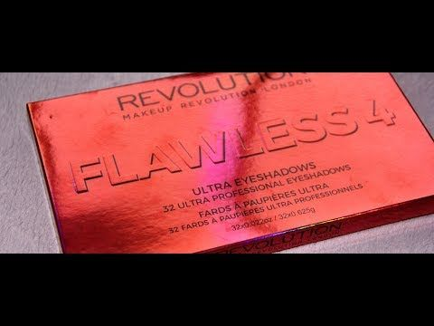 MichelaIsMyName: FLAWLESS 4 Eyeshadow Palette by Makeup Revolution ...