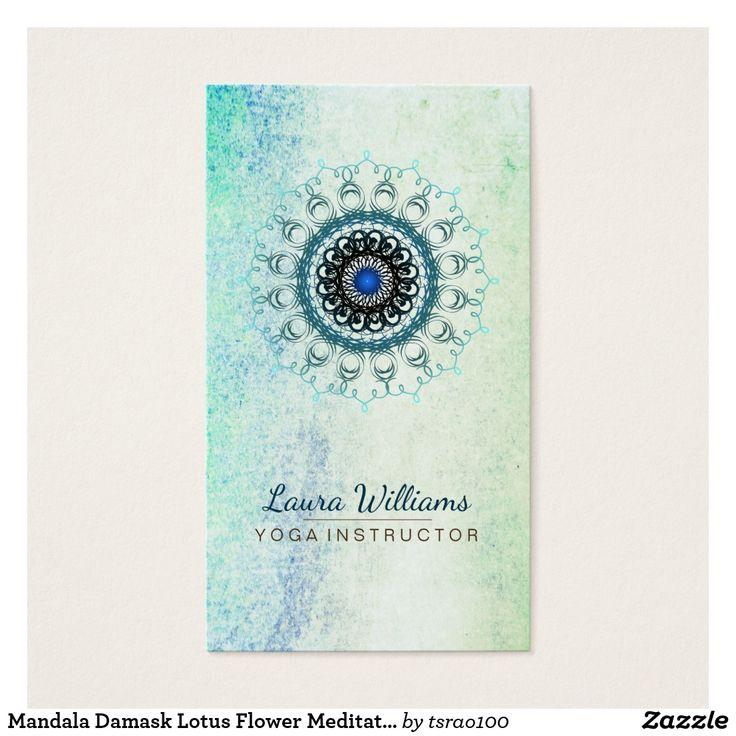 66 best Damask Mandala Business Cards images on Pinterest | Damascus ...