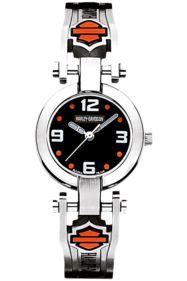 Bulova Harley Davidson Women's bracelet Watch 76L149