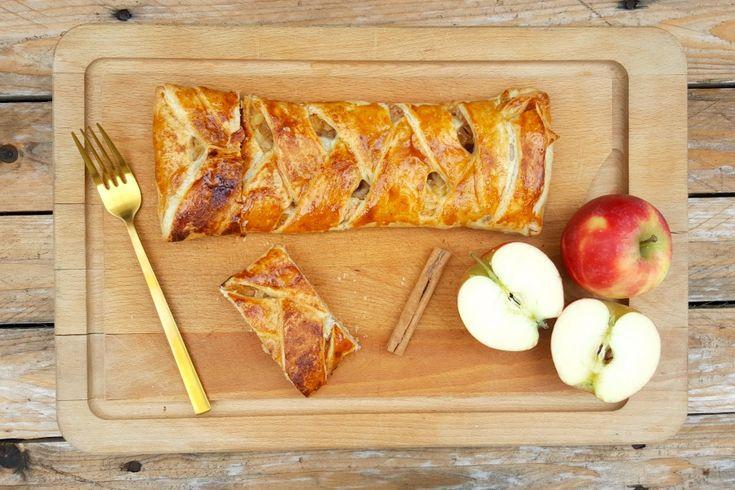 Combineer bladerdeeg, appel, rozijnen en Surinaamse rum om heerlijk appelgebak met Borgoe rum en rozijnen te maken. Een makkelijk en snel dessert!