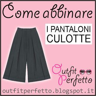 Outfit Perfetto: Come abbinare i PANTALONI CULOTTE (Autunno/Inverno)