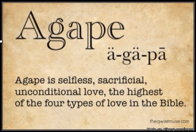 •~Agape~• Love beyond our understanding, yet how we are loved by our Father✌