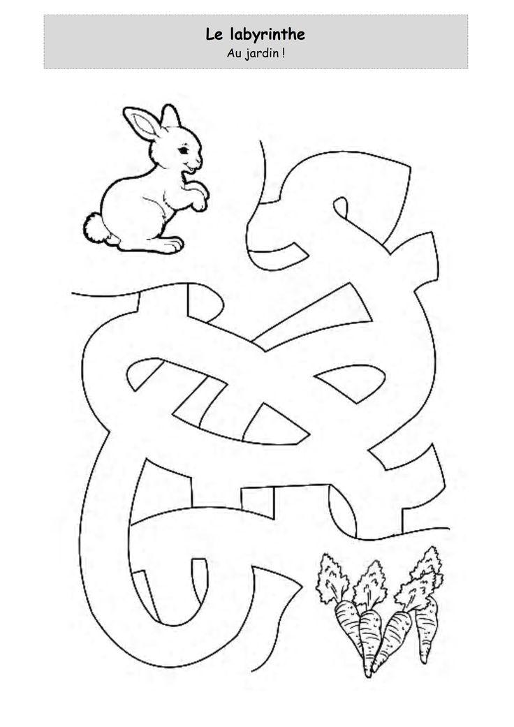 laberinto conejito