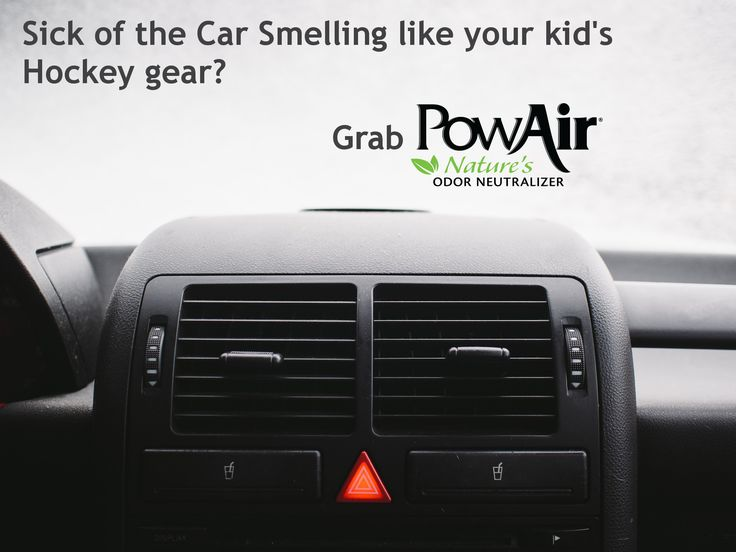 From the arena to the house, odors from your kid's hockey bag aren't going to linger! Our block is great for cup holders and keeping your car smelling fresh. #OdorNeutralizer #NaturalProducts