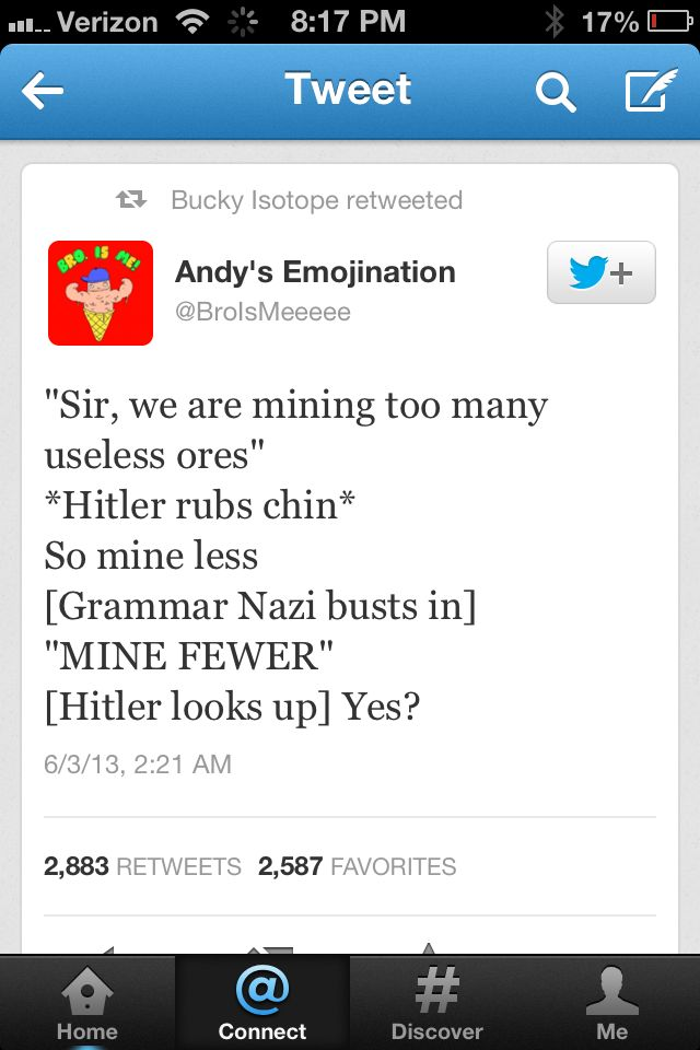 Ladies & gentlemen... the first ever tasteful Hitler joke.
