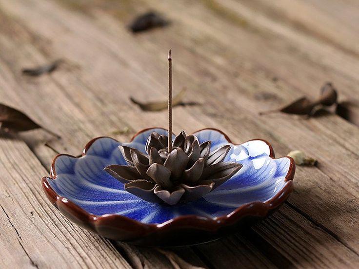 Brûleur d'encens - Le Lotus