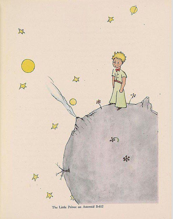 Le Petit Prince. Illustration original.