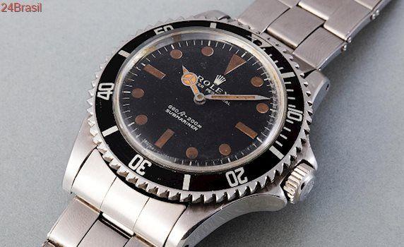 Leilão de luxo tem de espada de samurai a relógio Rolex