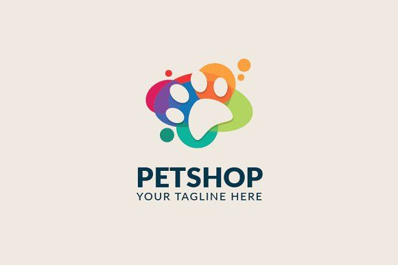 Petshop Logo by Birka Studio on @creativemarket