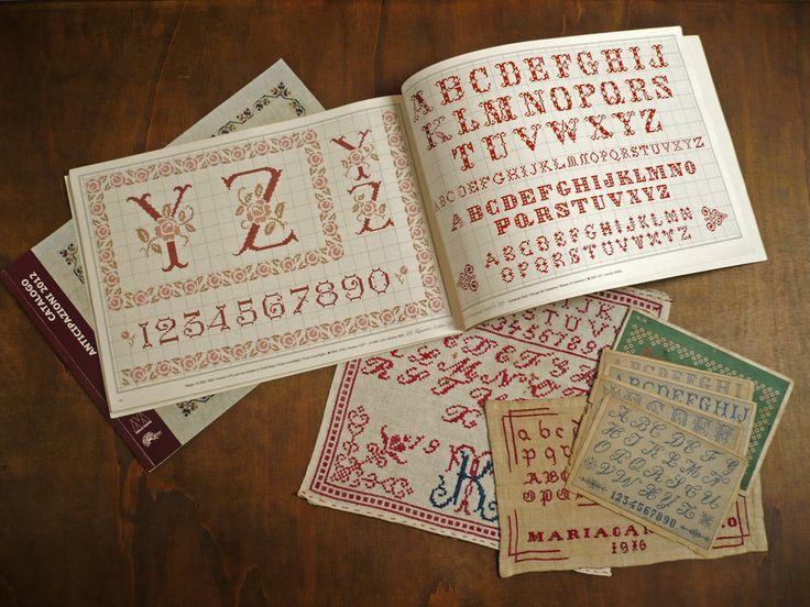 Vintage Cross Stitch Alphabets  www.ajisaipress.com