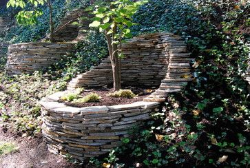 Residential Steep Slope Landscaping Design, Pictures, Remodel, Decor and Ideas - page 14