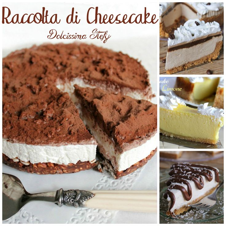 Raccolta di Cheesecake
