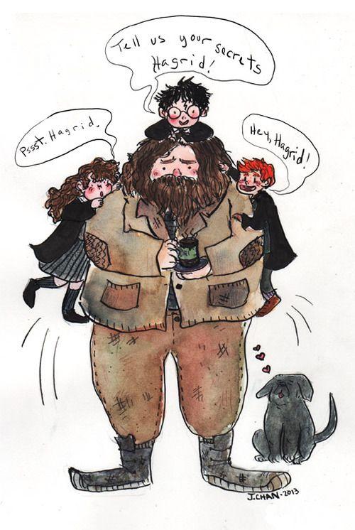 Hagrid by Jennifer Chan