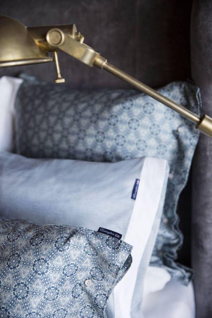 Lexington Bettwäsche Printed Sateen grün/blau · home go lucky