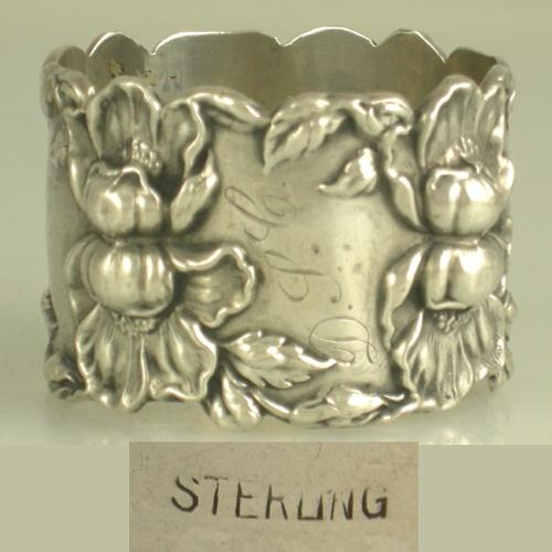 Antique Sterling Napkin ring
