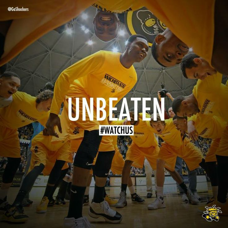 Final team in the nation still undefeated!! But still not satisfied..Keep on playing angry!! #BringGamedayToWichita