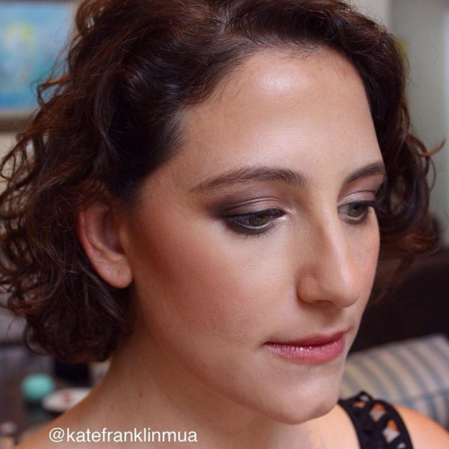 Smokey plum eye | Kate Franklin Makeup