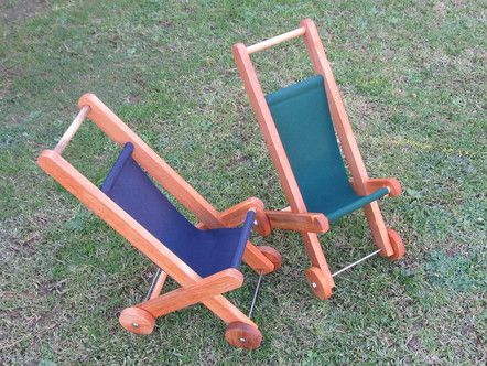 The Great New Zealand Toy Store   Rimu Doll's Push Chair, Pretend Play