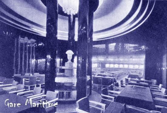 Normandie - Tourist Class Dining Room