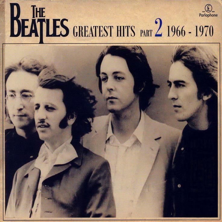 Carátula Cd2 de The Beatles - Greatest Hits Part 2: 1966-1970