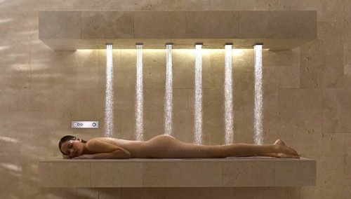 The Horizontal Shower by Dornbracht