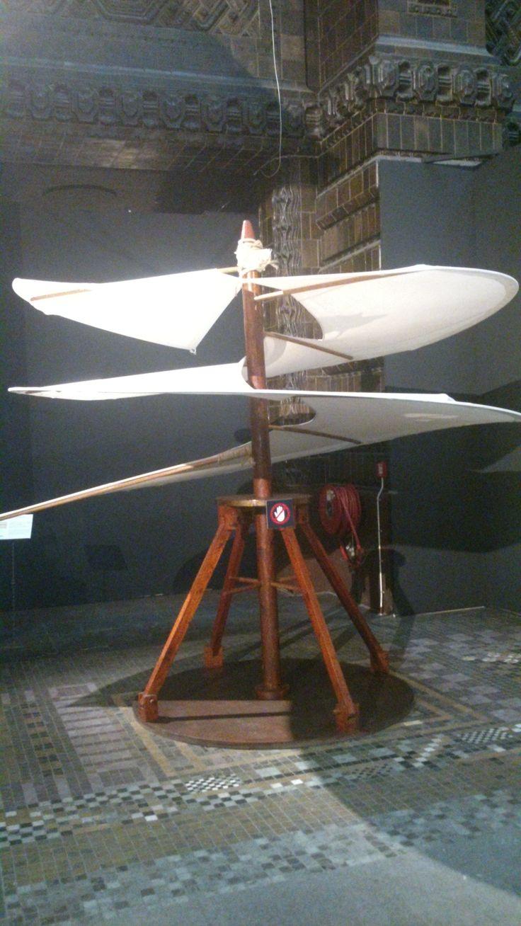 Ook een soort vliegmachine door Leonardo da Vinci, deze uitvinding heeft net als de rest van zijn vlieg-ontwerpen nooit echt gevlogen. Ze hebben dit ontwerp nog wel in een programma van Discovery Channel nagebouwd, maar net als deze vloog het toestel niet, zelfs niet met moderne grondstoffen, zoals aluminium.
