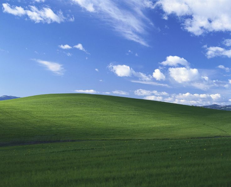 This #Windows #wallpaper was a real #photo & here's the guy who took it from Patty Winsa