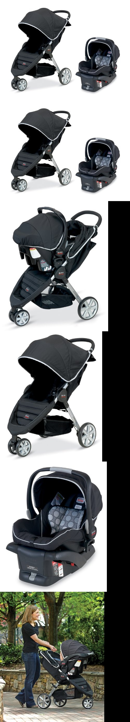 Britax B-Agile and B-Safe Travel System, Black - The B-Agile Stroller from Britax is a lightweight, compact stroller featuring a one-hand, quick-fold design with an automatic chassis lock. The B-Agile is also compatible with other major manufacturer... - Travel Systems - Baby$294.00