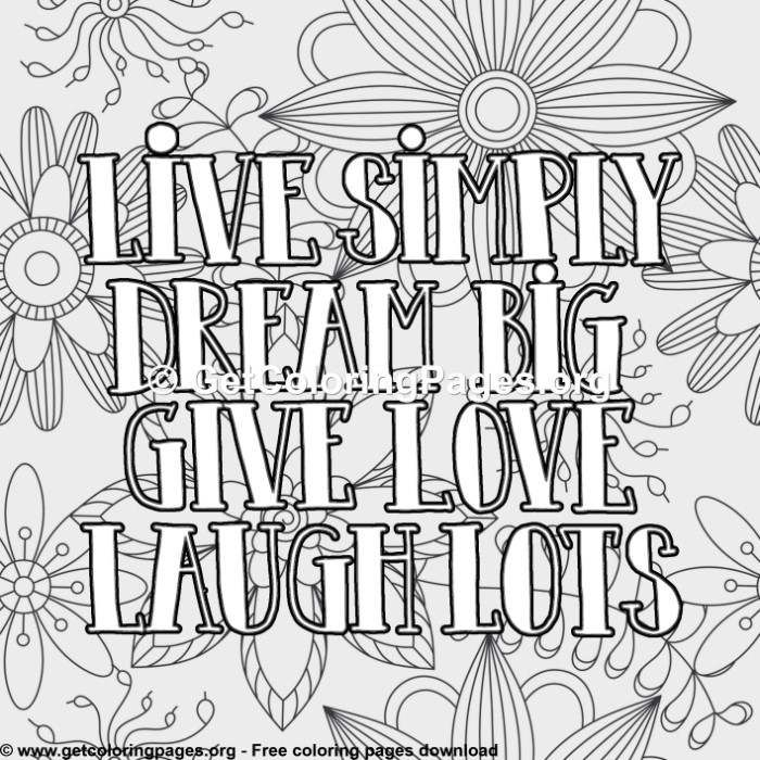 Quote Coloring Pages Pdf Getcoloringpages Org Quote Coloring Pages Love Coloring Pages Coloring Pages