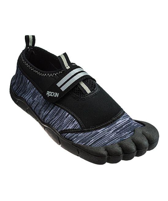 Gray Aqua Bay Water Shoe - Kids