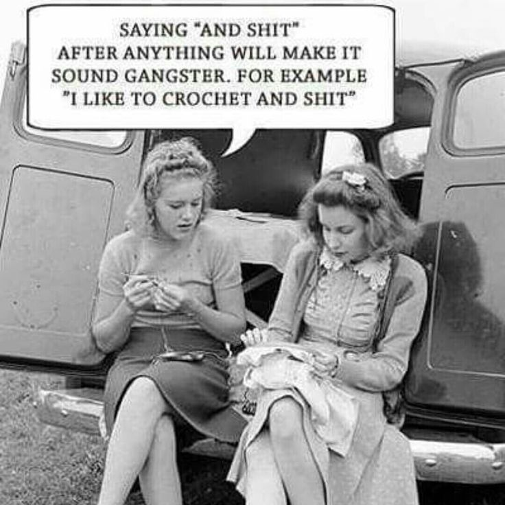 Gangster crochet