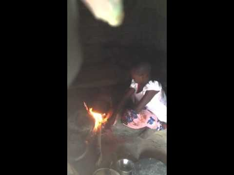 A film of me keeping the fire going