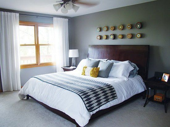 a chic hip bedroom retreat for busy and stylish parents - Master Bedroom Retreat Decorating Ideas